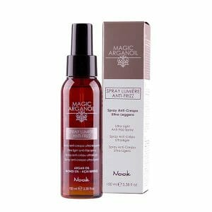 magic arganoil spray lumière anti frizz 100ml nook
