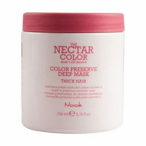 the nectar color preserve deep mask thick hair 250ml nook
