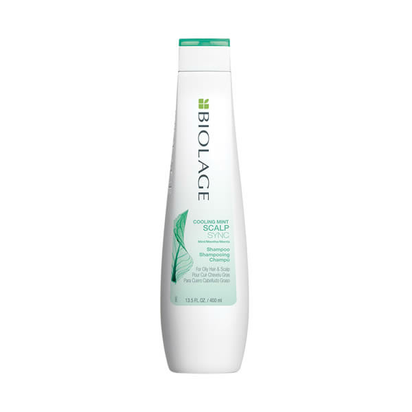 scalpsync cooling mint shampoo 250ml biolage