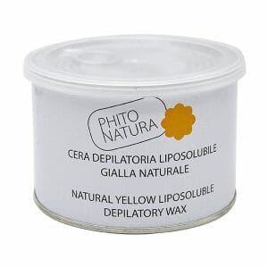 cera depilatoria liposolubile gialla naturale 400ml phito natura