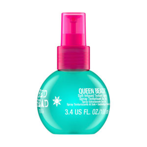 queen beach salt infused texture spray 100ml bed head by tigi