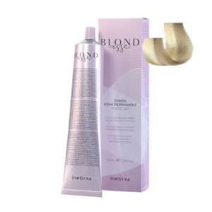 blondesse toner demi permanent 09 light cream pearl 100ml inebrya